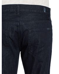 7 For All Mankind - Blue Modern Bootcut Jeans for Men - Lyst