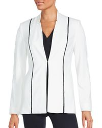 T Tahari | Black Anna Antique Jacket | Lyst