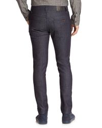 Nudie Jeans - Blue Grim Tim Straight Slim Jeans for Men - Lyst