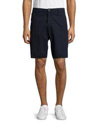 Original Paperbacks - Blue St. Barts Cotton Twill Shorts for Men - Lyst