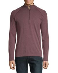 Mpg - Purple Form Seamless Pullover for Men - Lyst