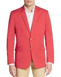 Ben Sherman - Red Cotton Sportcoat for Men - Lyst