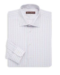 Hickey Freeman - White Classic-fit Cotton Dress Shirt for Men - Lyst
