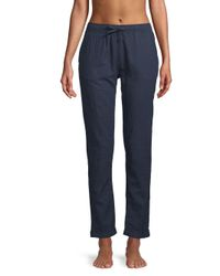 Onia - Blue Ella Linen Cotton Coverup Pants - Lyst