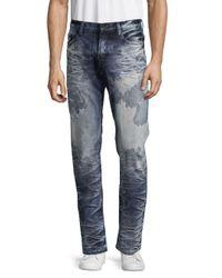 PRPS - Blue Congress Acid-wash Five-pocket Jeans for Men - Lyst