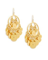 Ben-Amun - Metallic Multi-coin Drop Earrings - Lyst