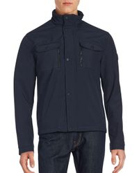 Michael Kors - Blue Multi-pocket Hipster Jacket for Men - Lyst