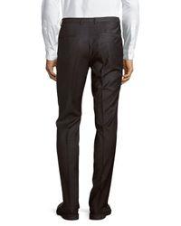 HUGO | Multicolor Wool-blend Straight-leg Pants for Men | Lyst