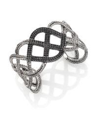 John Hardy - Metallic Classic Chain Wide Double Braided Cuff - Lyst