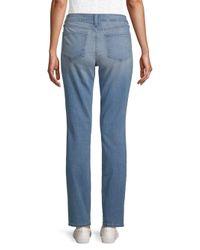 NYDJ - Blue Sheri Slim Jeans - Lyst