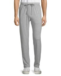 Polo Ralph Lauren - Gray Slim-fit Terry Cotton Sleep Pants for Men - Lyst