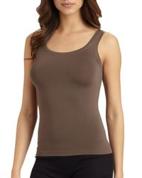 Hanro - Brown Touch Feeling Tank Top - Lyst