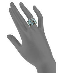 Ippolita - Metallic 18k Gold Cluster Ring - Lyst