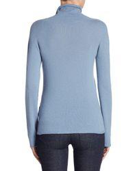 Giorgio Armani - Blue Cashmere Sweater - Lyst