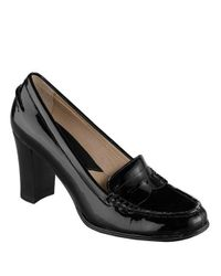 c334af676f2 Lyst - Michael Kors Bayville Loafer Pumps in Black