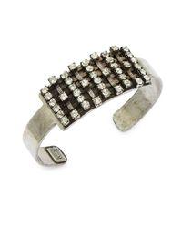 DANNIJO | Metallic Idris Cuff Bracelet | Lyst