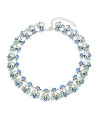 Saks Fifth Avenue - Metallic Crystal Collar Necklace - Lyst