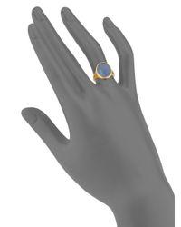 Marco Bicego - Metallic Siviglia Chalcedony & 18k Yellow Gold Ring - Lyst