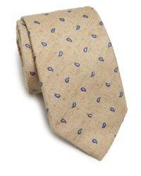 Ike Behar - Multicolor Neat Paisley Silk Tie for Men - Lyst