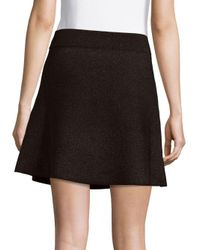 A.L.C.   Black Savador A-line Skirt   Lyst