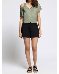 Sanctuary Clothing - Green French Terry Short - Lyst