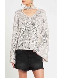 Sass & Bide - Metallic Mystify My Mind Knit - Lyst
