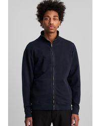 Saturdays NYC - Blue Sam Full Zip Sweatshirt for Men - Lyst