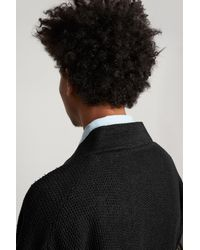 Saturdays NYC - Black Lim Studio Paper Cardigan for Men - Lyst