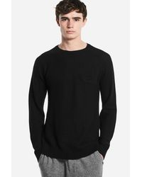 Saturdays NYC - Black Keith Sweater for Men - Lyst