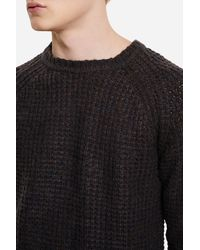 Saturdays NYC - Multicolor Miguel Waffle Knit Sweater for Men - Lyst