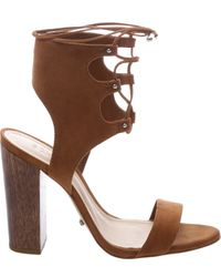 c4e96c3e0556 Lyst - Schutz Cruz in Brown