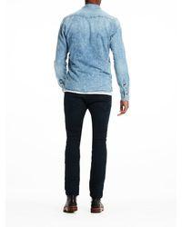 Scotch & Soda - Blue Amsterdams Blauw Shirt for Men - Lyst