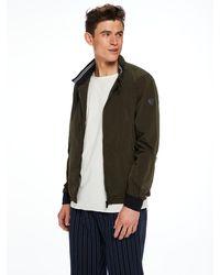 Scotch & Soda | Green Short Basic Jacket for Men | Lyst
