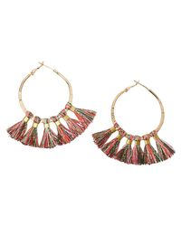 Scotch & Soda | Multicolor Tasseled Earrings | Lyst