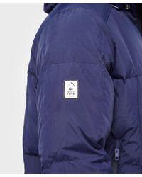 Lacoste - Blue Padded Jacket for Men - Lyst