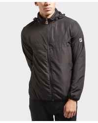 Fila - Black Cipolla Zip Through Jacket for Men - Lyst