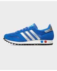 adidas Originals La Trainer Og in Blue for Men Lyst