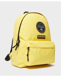 Napapijri - Yellow Voyage Backpack for Men - Lyst