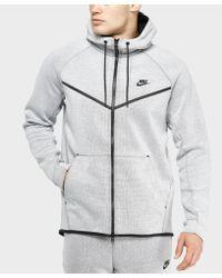 e2877e1c03 Lyst - Nike Tech Fleece Windrunner Hoody in Gray for Men