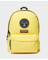 Napapijri - Yellow Voyage Backpack for Men - Lyst