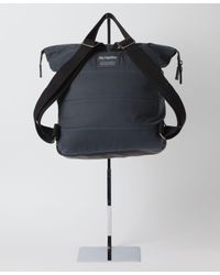 Ally Capellino - Gray Frances Waxed Cotton Rucksack for Men - Lyst