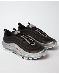reputable site 1f61b ff4a0 Nike Air Max 97 'b-sides' Qs Black / Silver in Black for Men - Lyst