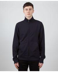 A.P.C. - Blue Migos Zip Through Sweatshirt for Men - Lyst