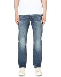 Levi's | Blue 501 Original Regular-fit Straight Jeans for Men | Lyst