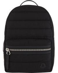 Moncler - Black George Padded Nylon Backpack for Men - Lyst