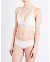 Passionata - White Dream Passio Stretch-knit Soft-cup Bra - Lyst