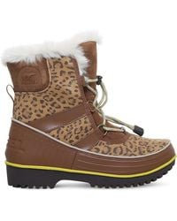 Sorel - Brown Tivoli Ii Fleece-lined Boots 7-10 Year - Lyst