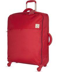 Lipault - Red Inès De La Fressange Four-wheel Suitcase 72cm for Men - Lyst