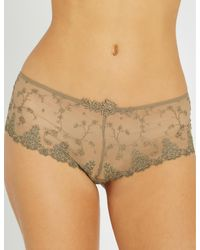 Passionata - Natural White Nights Mesh Shorty Briefs - Lyst