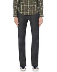 Armani Jeans   Black J12 Regular-fit Straight Jeans for Men   Lyst